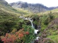 Waterfall the Road to Egol Scotland