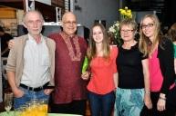 With Jurgen , Tania, Bridgette, Hannah, Brauninger