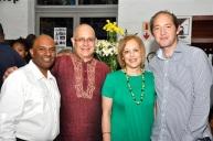 With Kaymarlin Govender, Prof Cheryl Potgeiter and Samuel Gormley