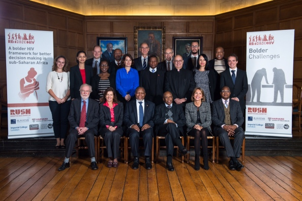 The Official Picture: 'HIV/AIDS: New Thinking for a Ticking Time Bomb', Oxford, 26th November 2014