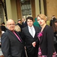 Alan, Rowan and Douglas