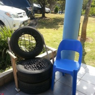 Tire Chairs 2 Waterford Nov 2015