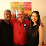 Alan, Nathi, and Joanna - three Waterford graduates from different generations.