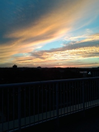 Sunset in Waterloo, September 2016